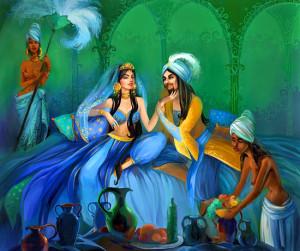 Восточные ароматы. Парфюмерные сказки Шахерезады