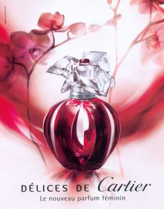 Cartier Delices De Cartier - обольстительный аромат с ярким аккордом вишни