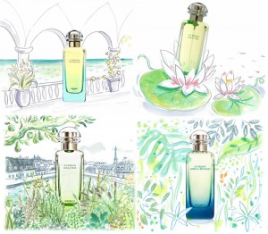 Коллекция Un Jardin от Hermes
