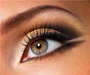макияж, увеличивающий глаза