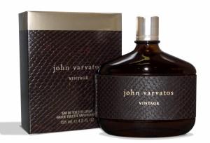 Мужской восточный древесный парфюм John Varvatos Vintage с нотами кожи